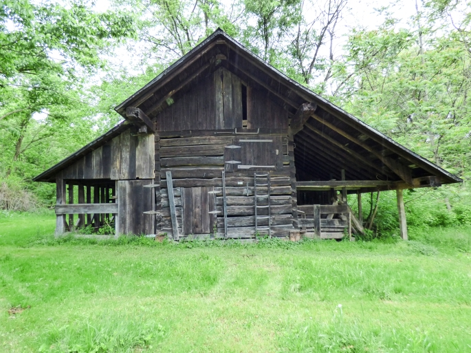 historic Appalachian log barn