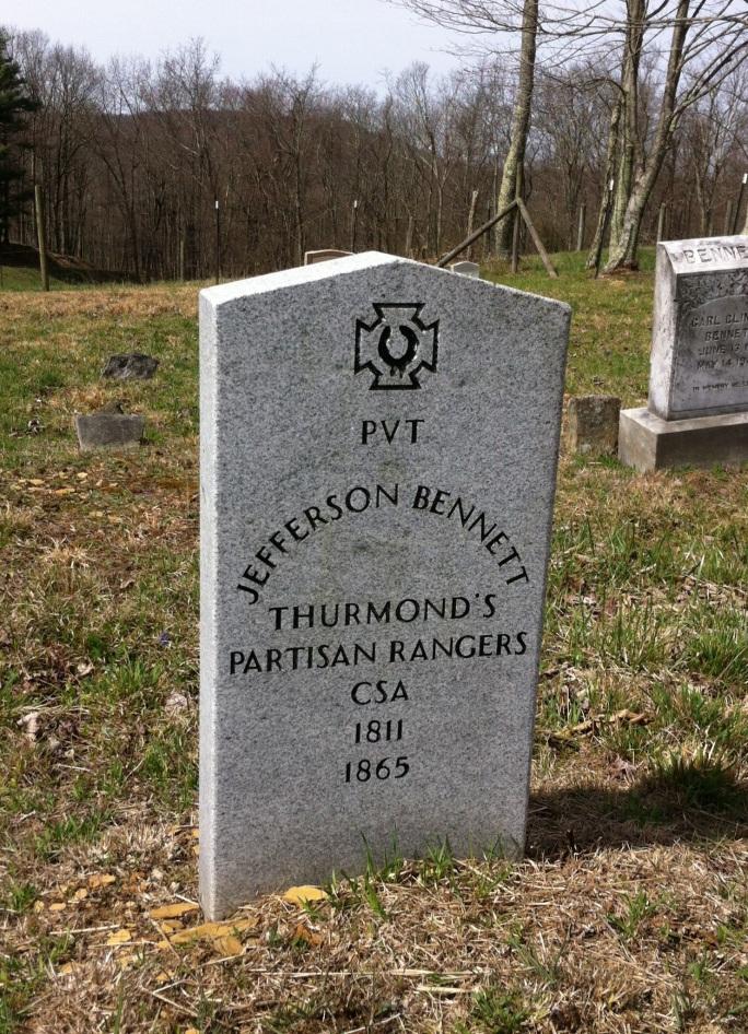 Jefferson Bennett grave