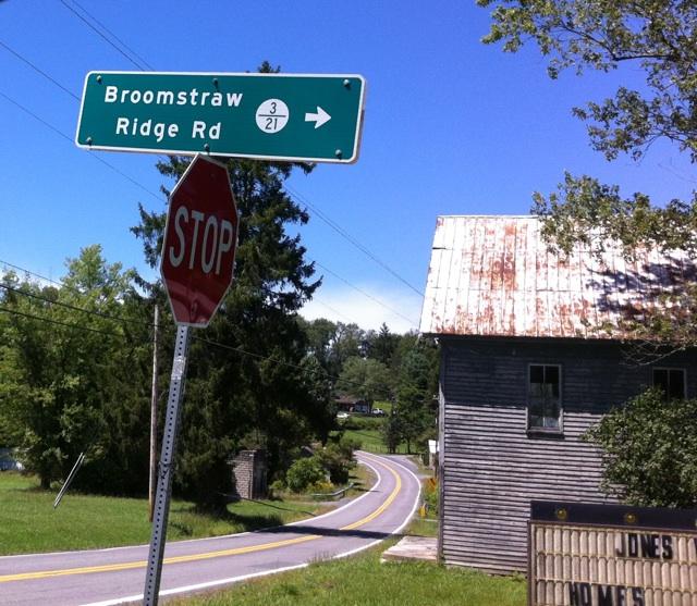 Broomstraw Ridge Road